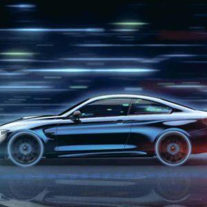 A Future Car Illustration
