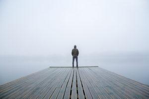 A Man and A Lake