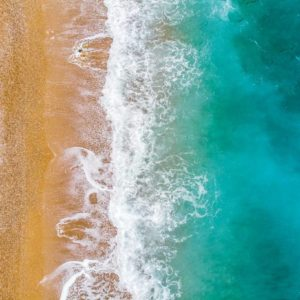 Aerial View Beach Shoreline 10