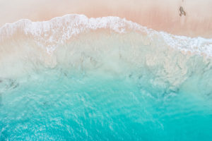 Aerial View Beach Shoreline 3