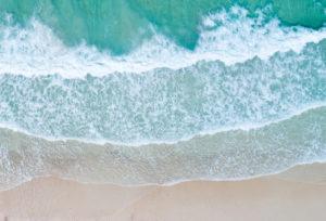 Aerial View Beach Shoreline 6