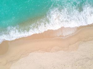 Aerial View Beach Shoreline 7