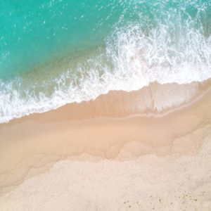 Aerial View Beach Shoreline 7