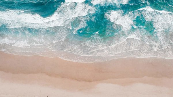 Aerial View Beach Shoreline 8