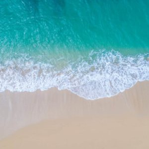Aerial View Beach Shoreline 9