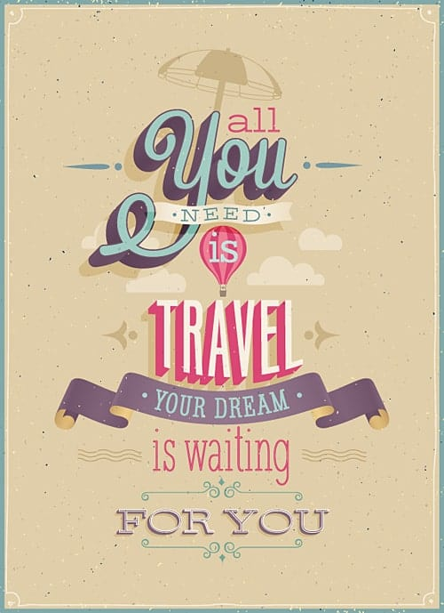 All You Need is Travel 1