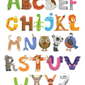 Alphabet Characters 1