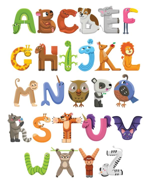 Alphabet Characters 1