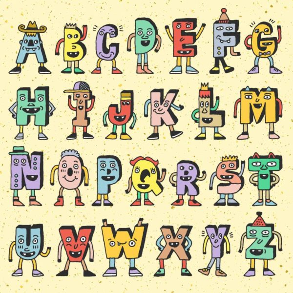 Alphabet Characters 2