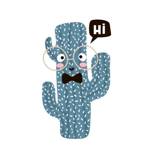 Cactus Says Hi