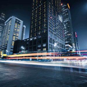 City Motion Blur