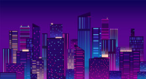 Colourful New York Illustration
