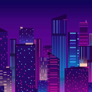 Colourful New York Illustration
