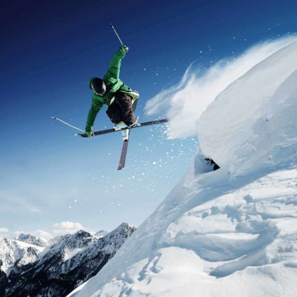Cross Those Skis