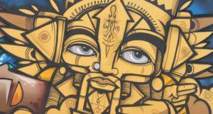 Graffiti Face 2