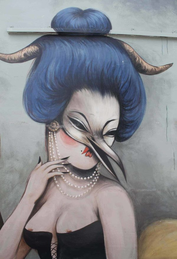 Graffiti Face 6