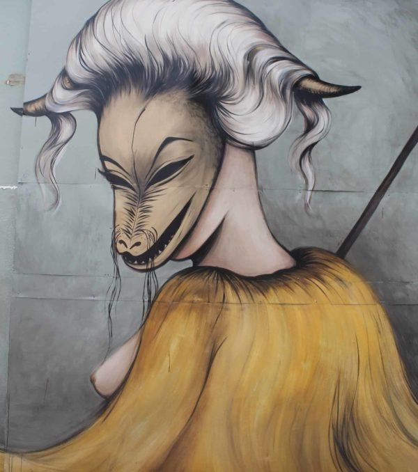 Graffiti Face 7