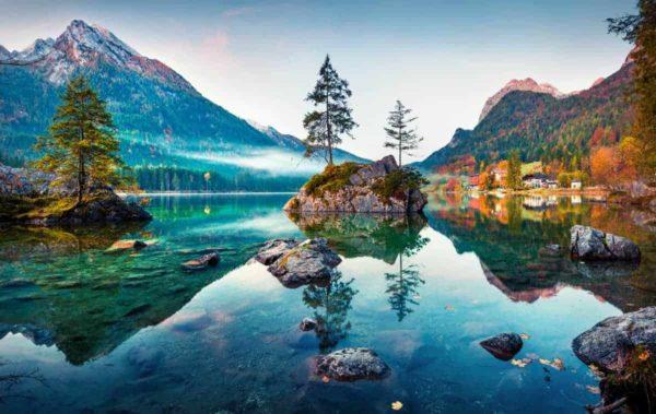 Hintersee Lake Germany 1