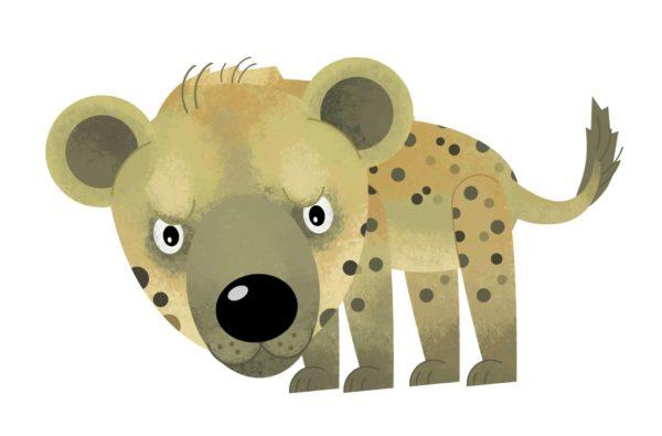 Hyena Cartoon