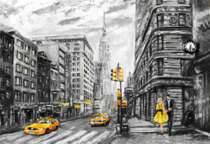 Illustration of New York City 1