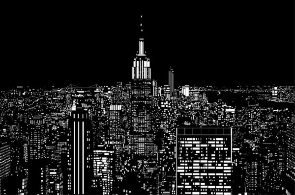 Illustration of New York City 4