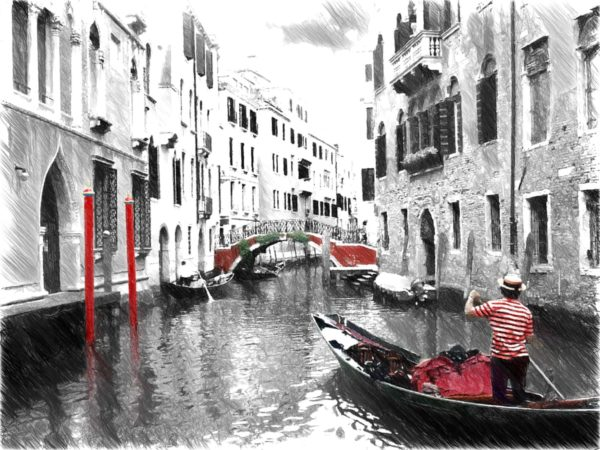 Illustration of Venice