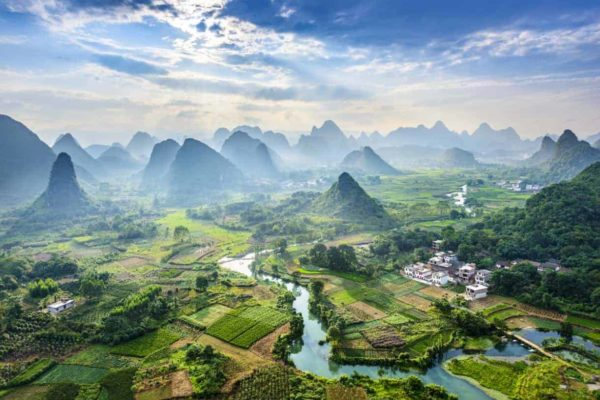 Karst Mountains China