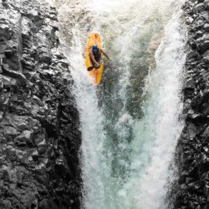 Kayaking a Vertical Drop