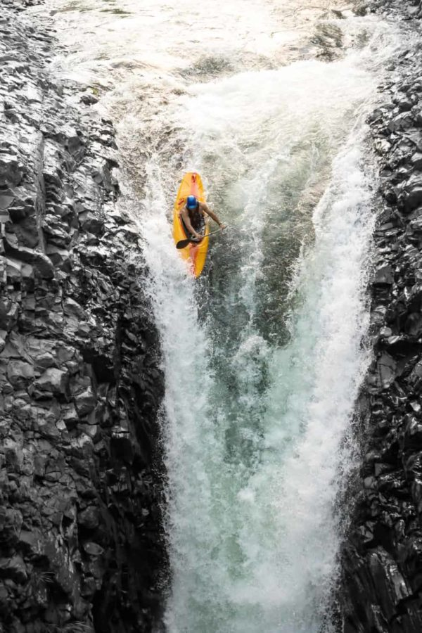 Kayaking a Vertical Drop