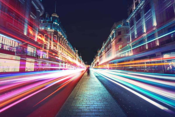 London Motion Blur 1