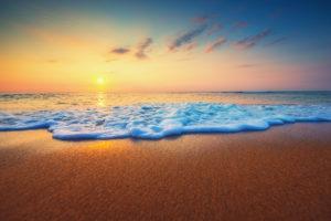 Ocean Horizon Sunrise 1