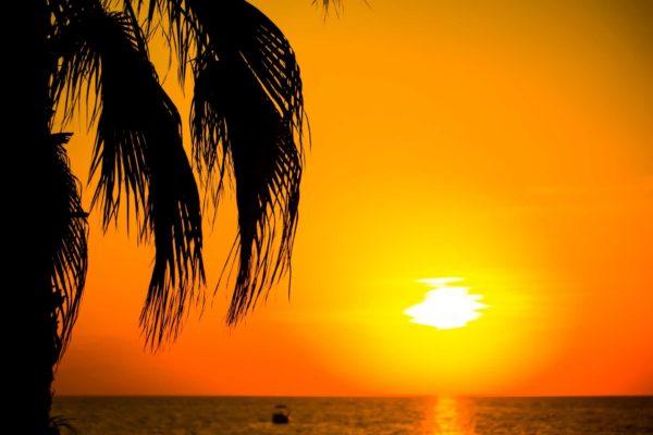 Ocean Horizon Sunset 2