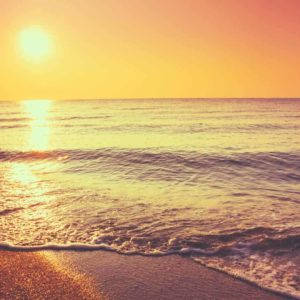 Ocean Horizon Sunset 3