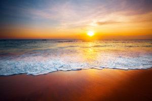 Ocean Horizon Sunset 4
