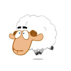 Sheep Breakdancing