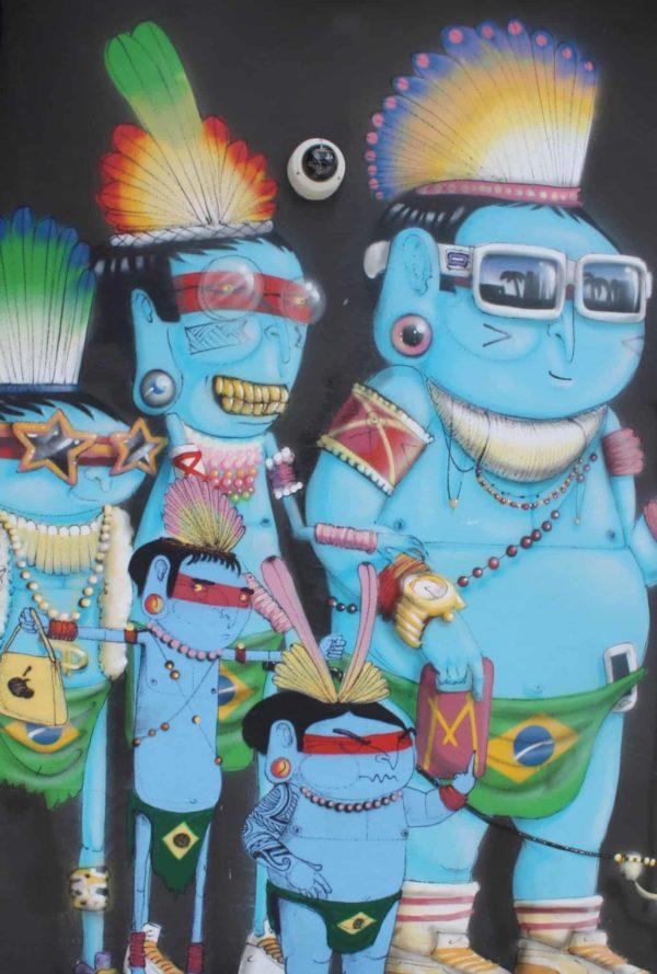 Smurfs in Brazil