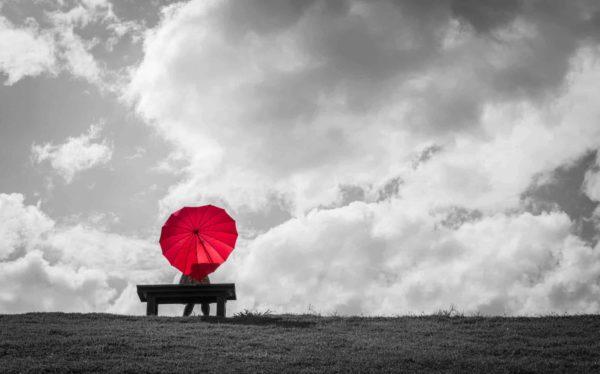That Red Umbrella