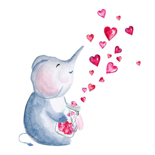 The Love Elephant