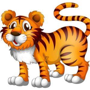 Tiger Cartoon 1
