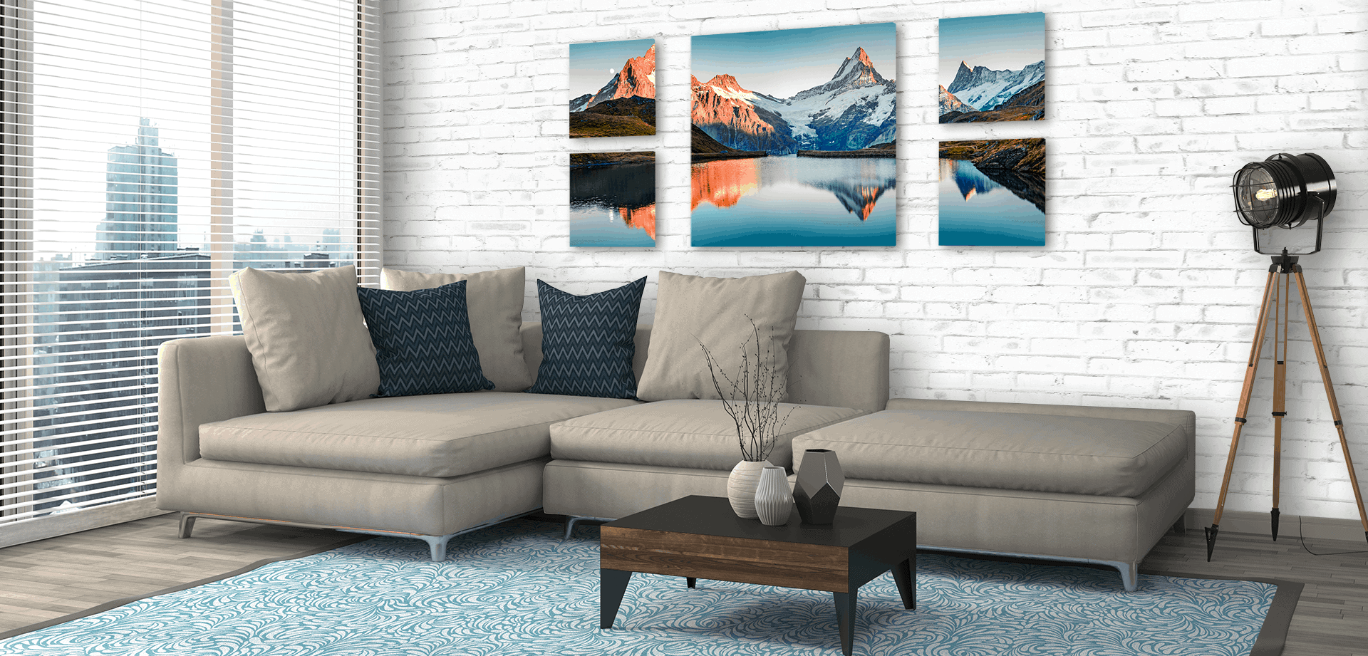 Large Canvas Pictures for Living Room