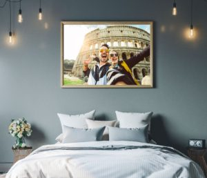 personalised canvas and framed prints