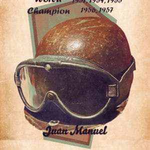1951 juan manuel retro digital canvas artwork prints