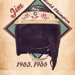 1963 jim clark retro digital canvas artwork prints