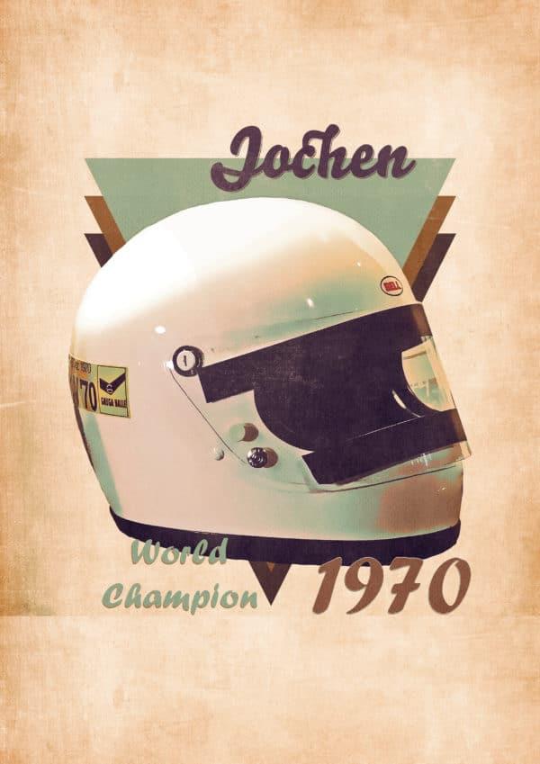 1970 jochen rindt digital canvas artwork prints