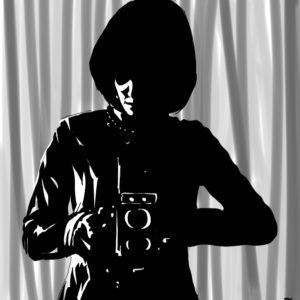 Analog digital comic illustration wall art canvas framed prints
