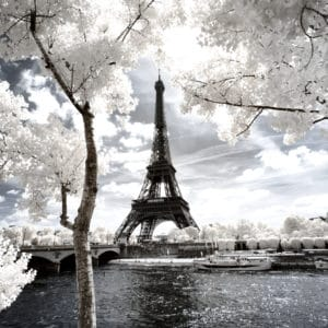 Paris landscape photography canvas and framed wall art