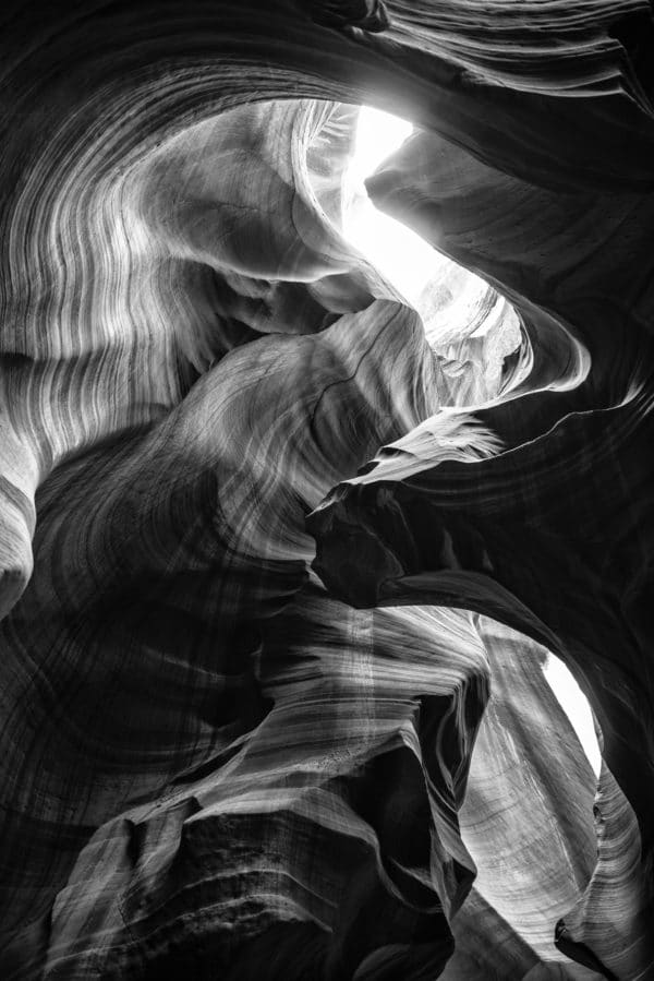 The Antelope Canyon Natural Wonder landscape photography canvas and framed wall art