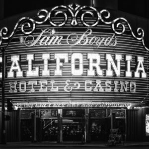 California Hotel Casino landscape photography canvas and framed wall art