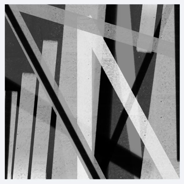 Black and White 4 abstract framed wall art