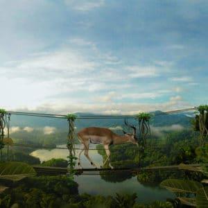 Bridge surreal digital wall art prints
